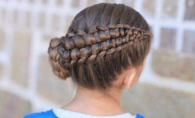 Cómo Hacer Peinados Para Niñas Con Trenzas Periodico