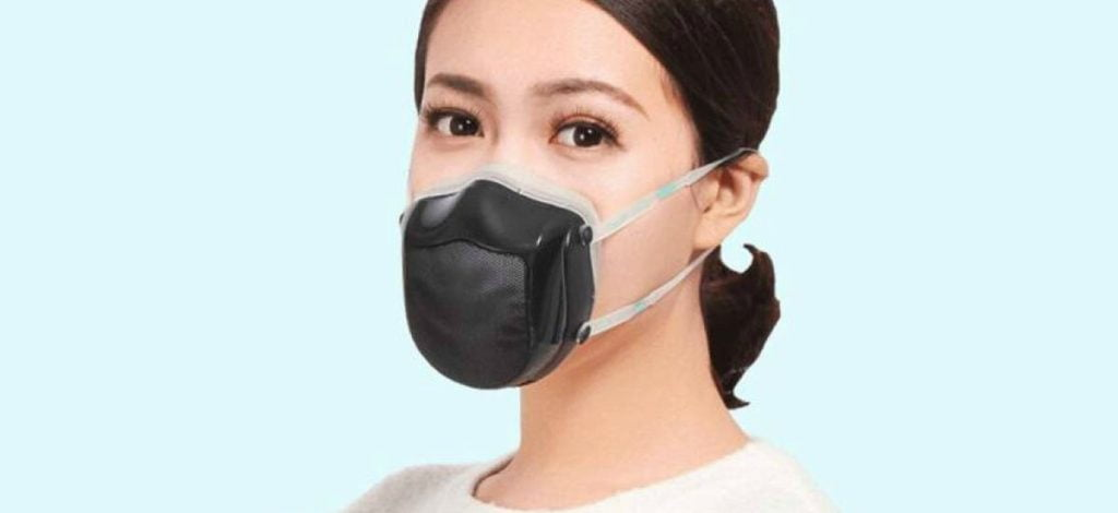 La mascarilla electrónica china: un novedoso invento de Xiaomi