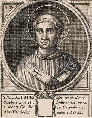 San Melquiades: un papado crucial